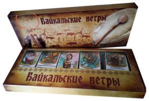 """Набор чаев в подарочной упаковке """"Байкальские ветры"""""""