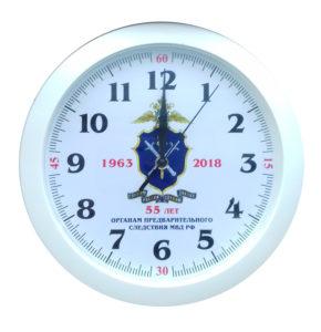 Интерьерные часы с нанесением Вашей символики, изображенем