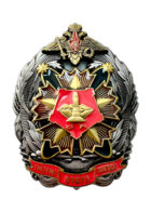 """Нагрудный знак """"Система Звезда"""" Ракетная дивизия 51870"""